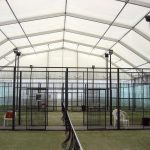 Semi Permanent Fabric Framed Structure