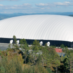 Huge Air Dome in Scandinavia